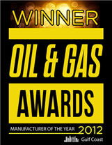 outstanding achievements that a manufacturer to the oil and gas industry has made in the Gulf Coast region