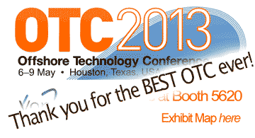 offshore technology conference 2013 Texas high flow oil water separation